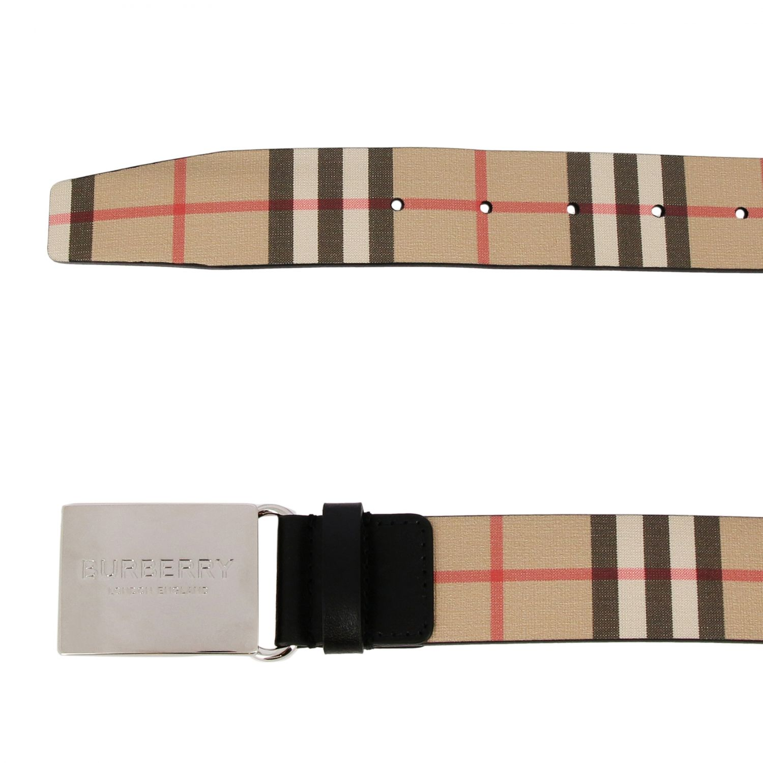 Belt men Burberry beige 2