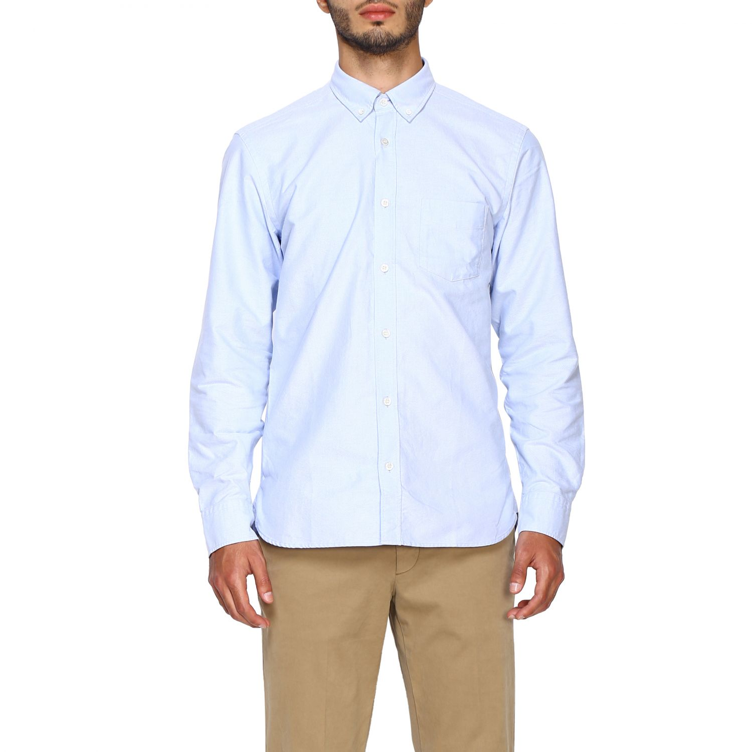 Shirt Burberry: Shirt men Burberry sky blue 1