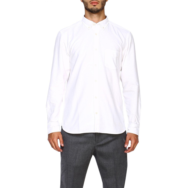 Camisa hombre Burberry blanco 1