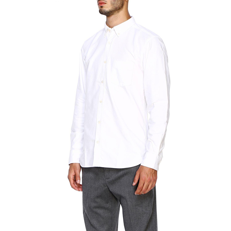 Camisa hombre Burberry blanco 4