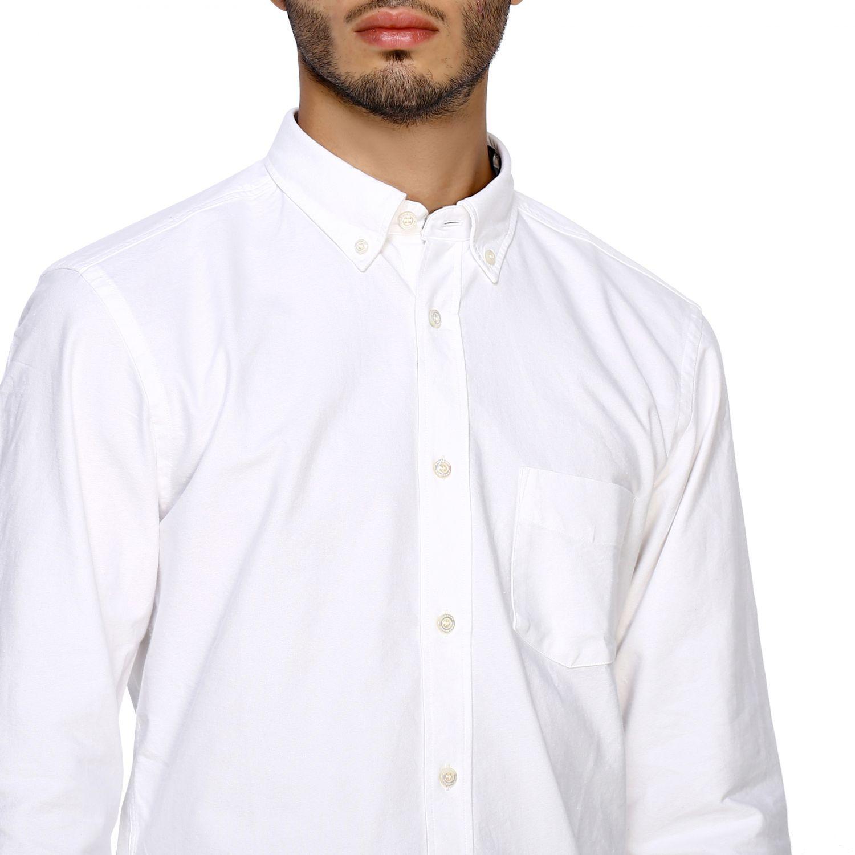 Camisa hombre Burberry blanco 5
