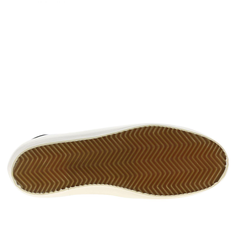 Sneakers Superstar Golden Goose in camoscio e pelle oro 6