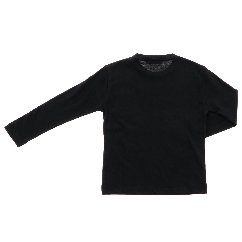 T-shirt kids Dondup black 2