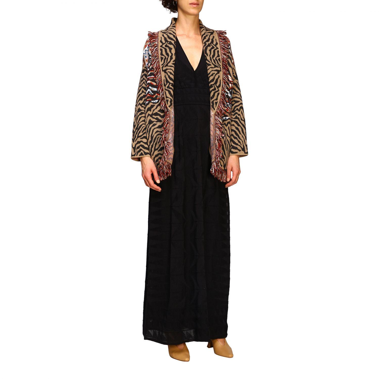 针织开衫 Alanui: 毛衣 女士 Alanui 棕色 2
