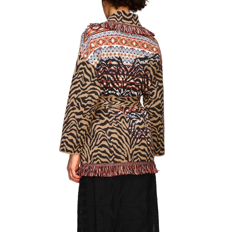 针织开衫 Alanui: 毛衣 女士 Alanui 棕色 3