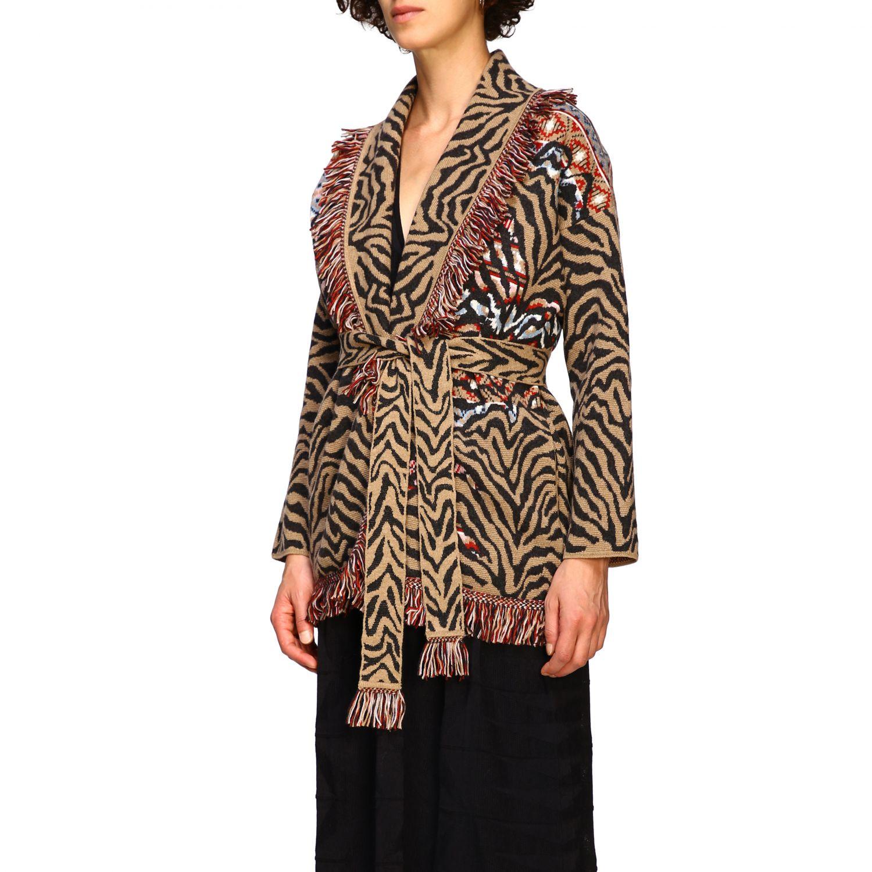 针织开衫 Alanui: 毛衣 女士 Alanui 棕色 4