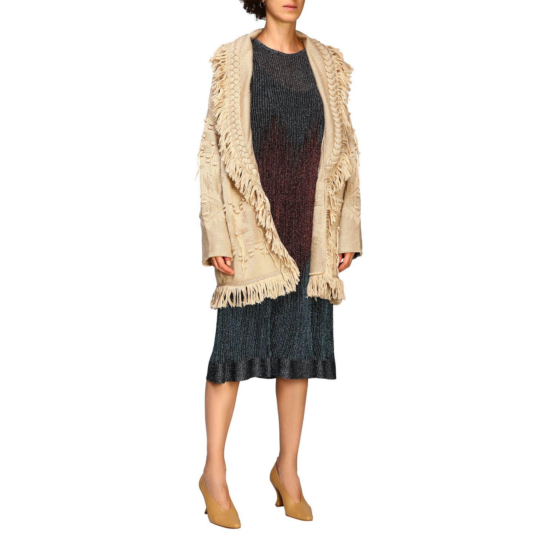 针织开衫 Alanui: 毛衣 女士 Alanui 米色 2