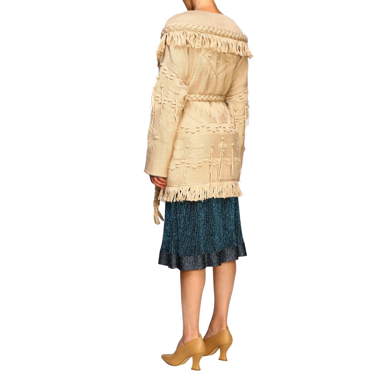 针织开衫 Alanui: 毛衣 女士 Alanui 米色 3