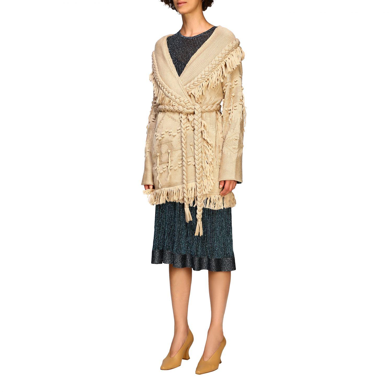 针织开衫 Alanui: 毛衣 女士 Alanui 米色 4