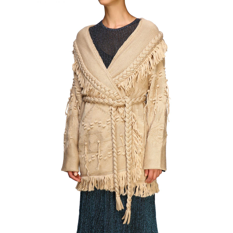 针织开衫 Alanui: 毛衣 女士 Alanui 米色 5