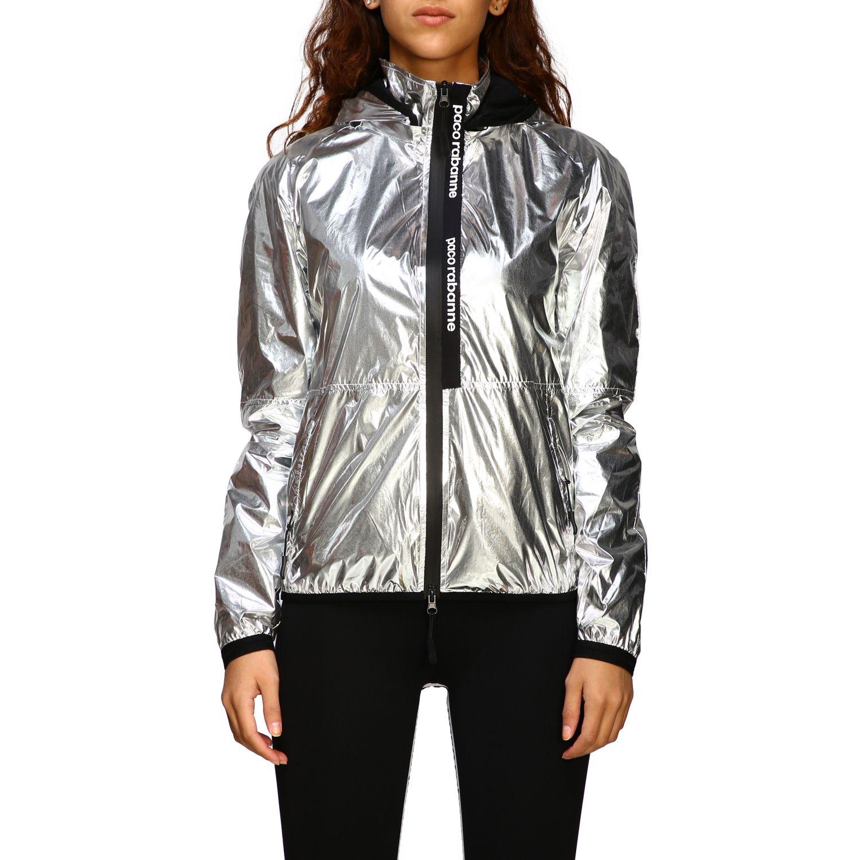 Куртка Женское Paco Rabanne серебряный 1