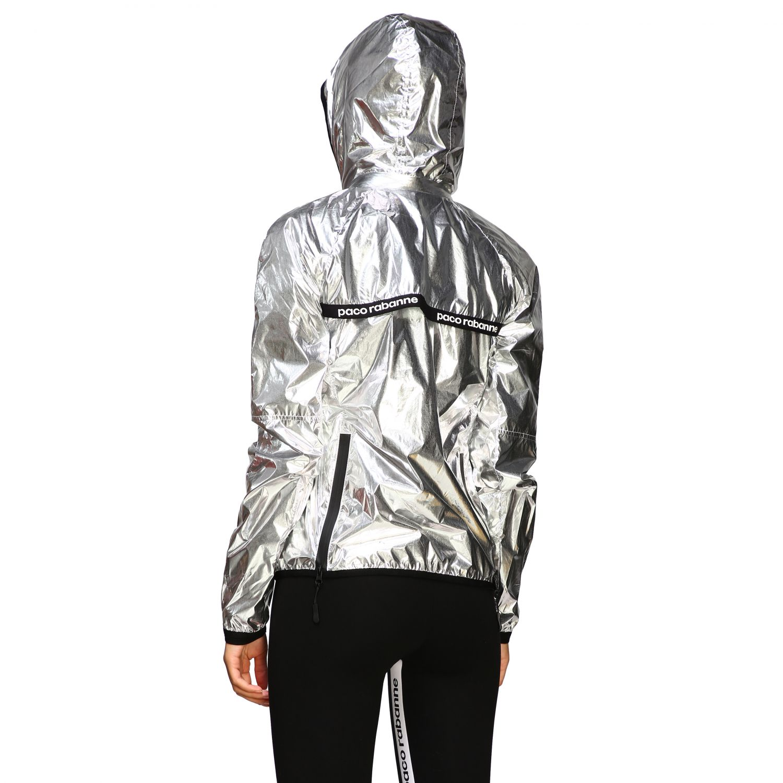 Куртка Женское Paco Rabanne серебряный 3