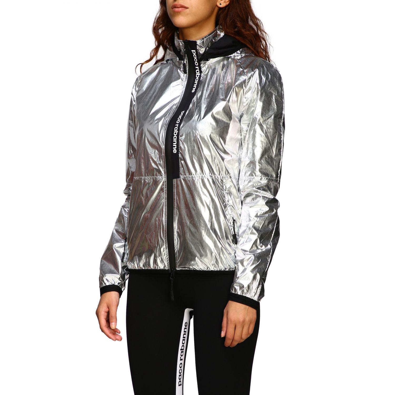 Куртка Женское Paco Rabanne серебряный 4