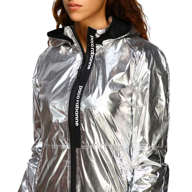 Куртка Женское Paco Rabanne серебряный 5