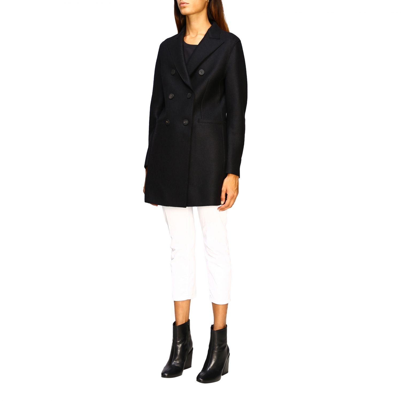 Coat Harris Wharf London: Jacket women Harris Wharf London black 4