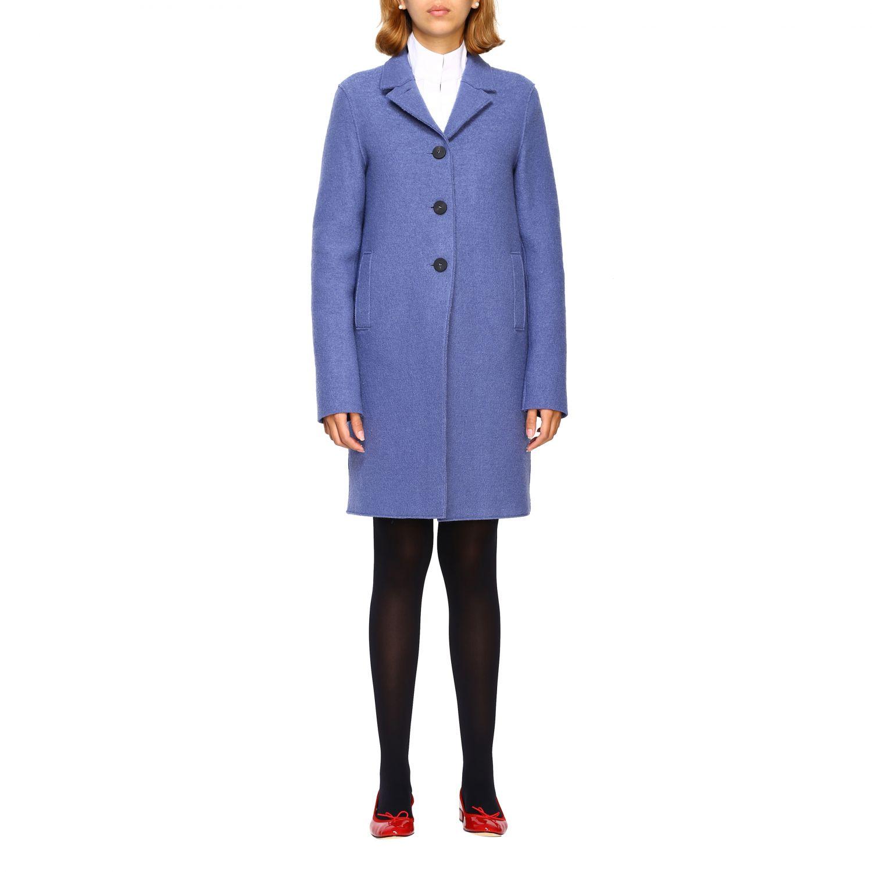 Coat women Harris Wharf London blue 1