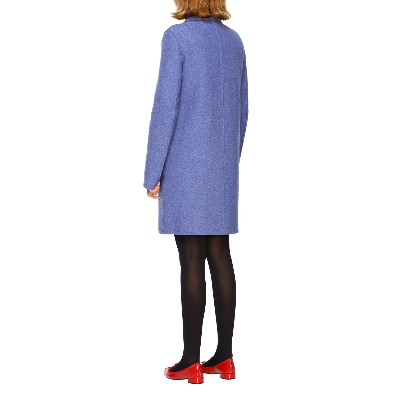 Coat women Harris Wharf London blue 3