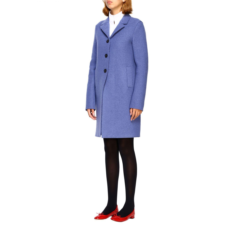 Coat Harris Wharf London: Coat women Harris Wharf London blue 4