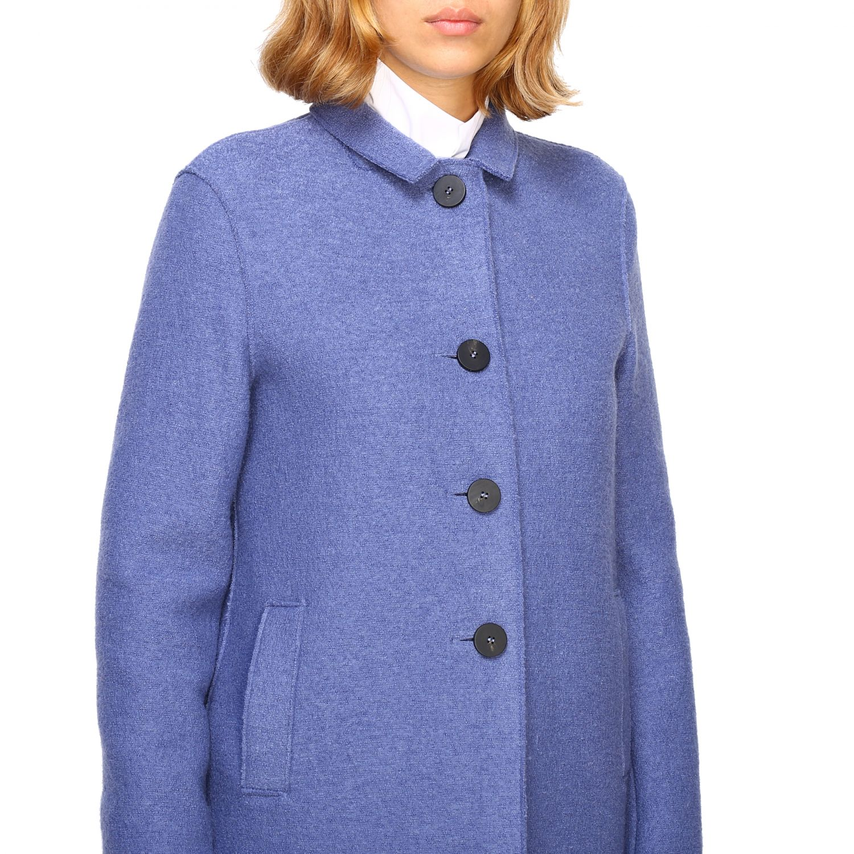 Coat women Harris Wharf London blue 5