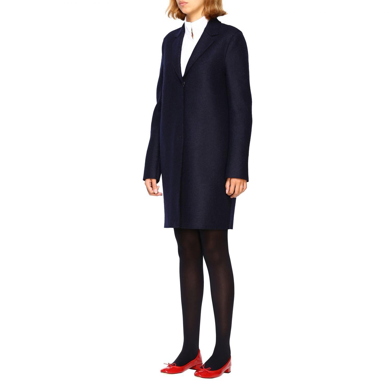 Coat women Harris Wharf London blue 4