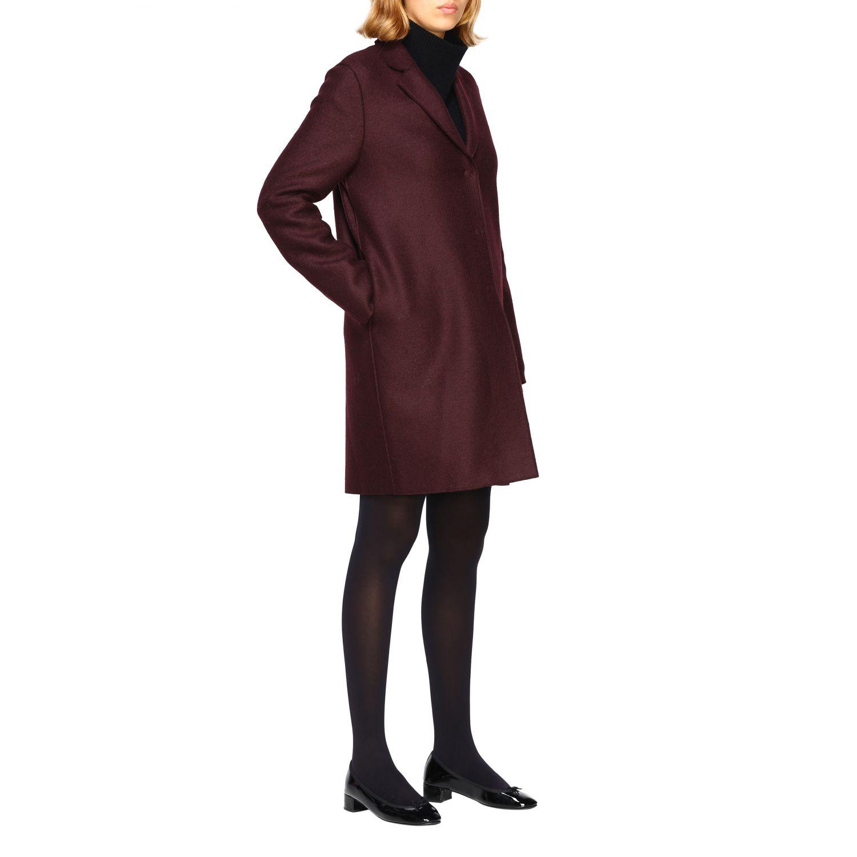 Coat women Harris Wharf London red 2