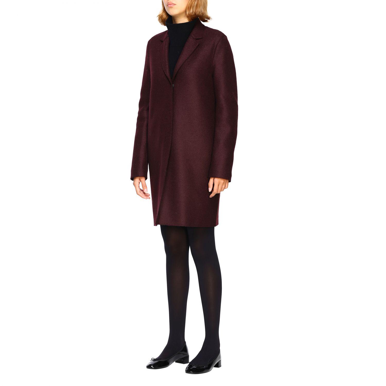 Coat women Harris Wharf London red 4