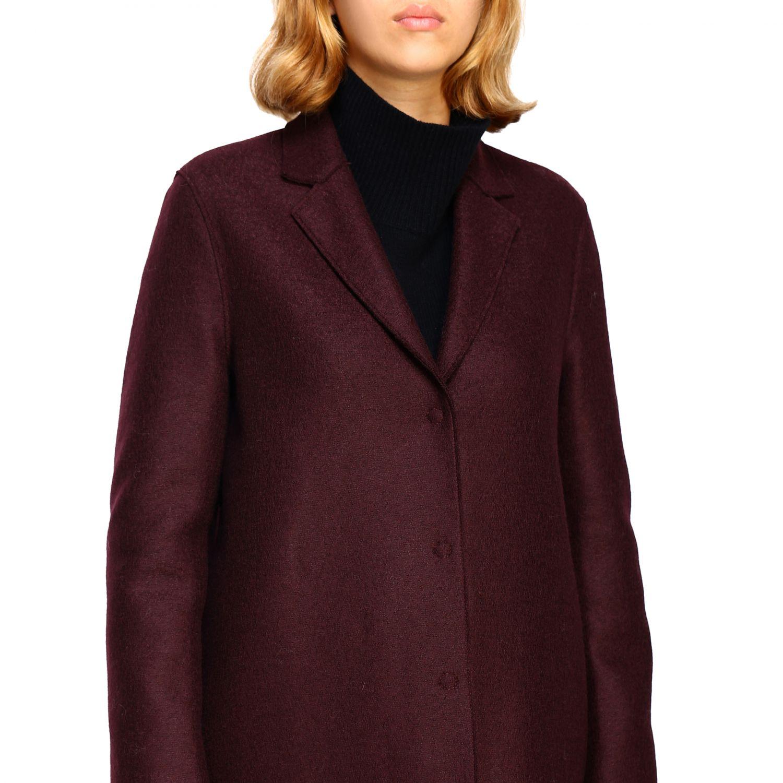 Coat women Harris Wharf London red 5