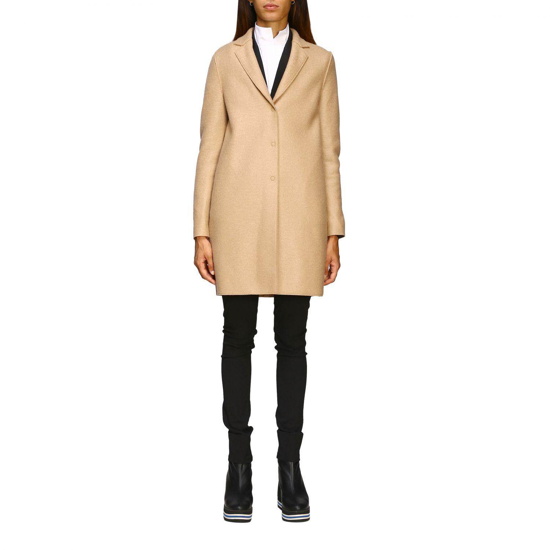 Coat women Harris Wharf London beige 1