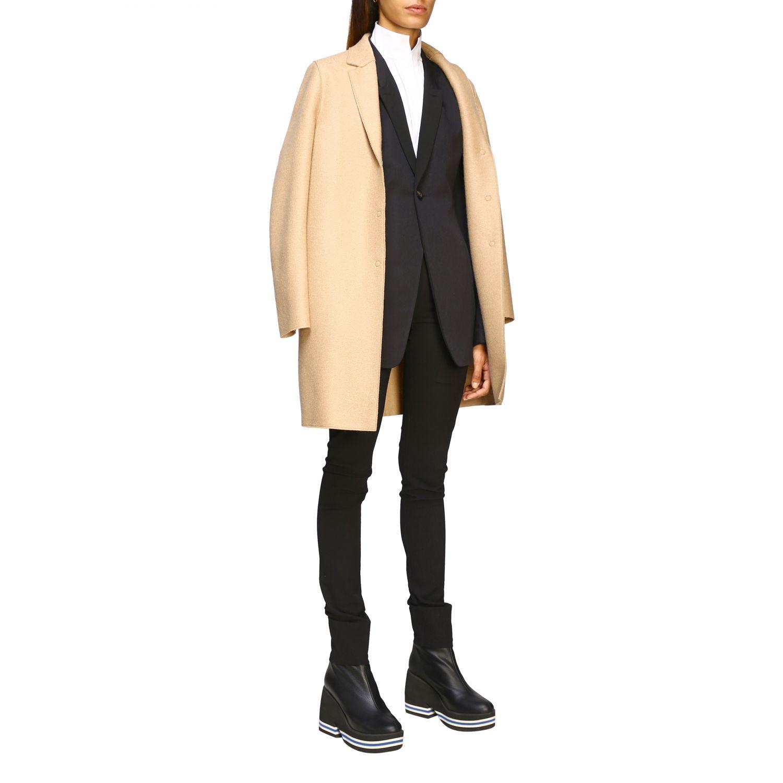 Coat women Harris Wharf London beige 2
