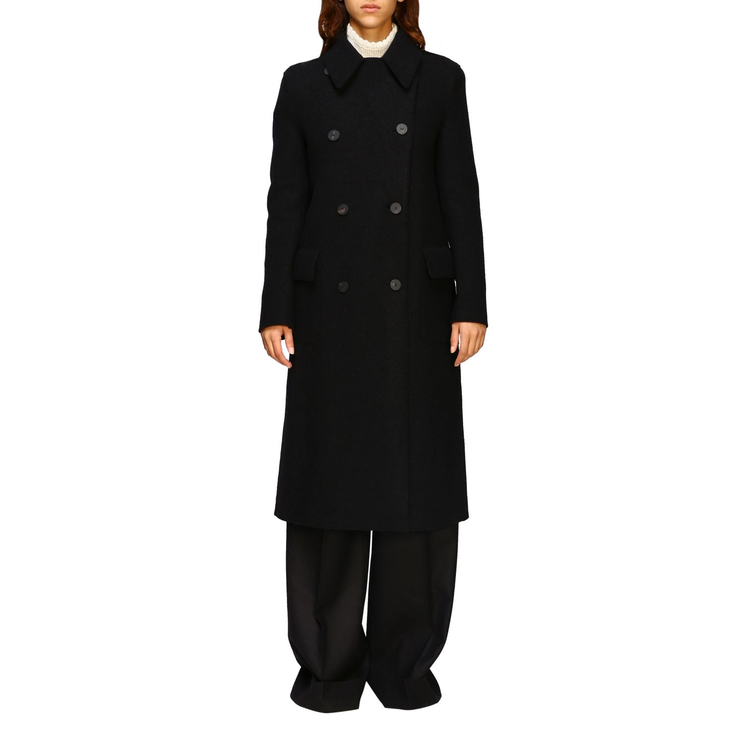 Coat Harris Wharf London: Coat women Harris Wharf London black 1