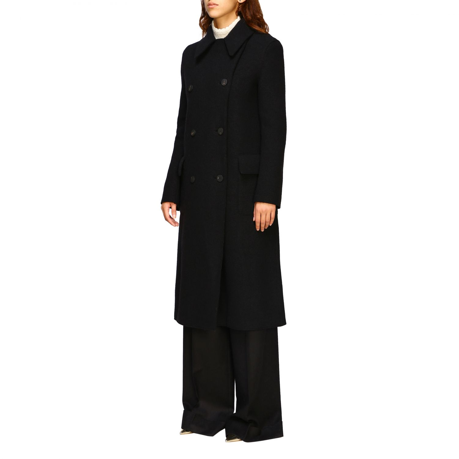 Coat Harris Wharf London: Coat women Harris Wharf London black 4