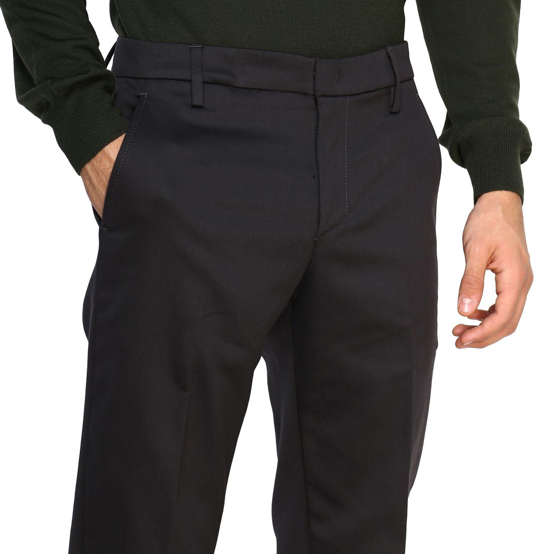 Pants Dondup: Pants men Dondup grey 5