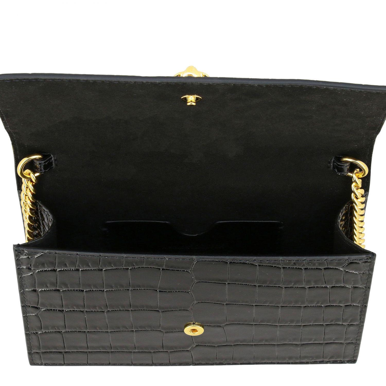 Mini bolso Alexander Mcqueen: Clutch mujer Alexander Mcqueen negro 5