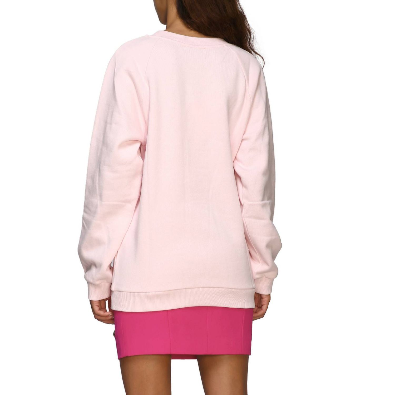 Balmain logo印花圆领卫衣 粉色 3