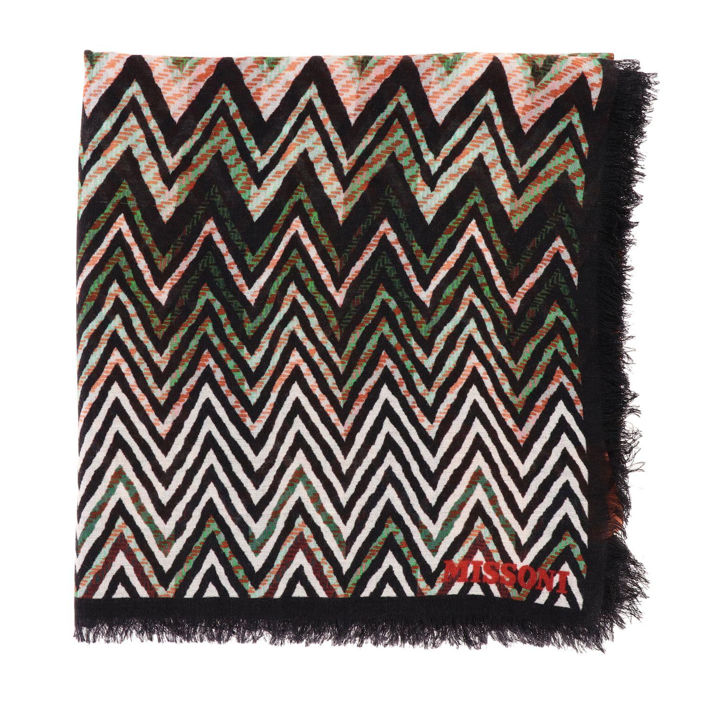écharpe femme Missoni multicolore 1