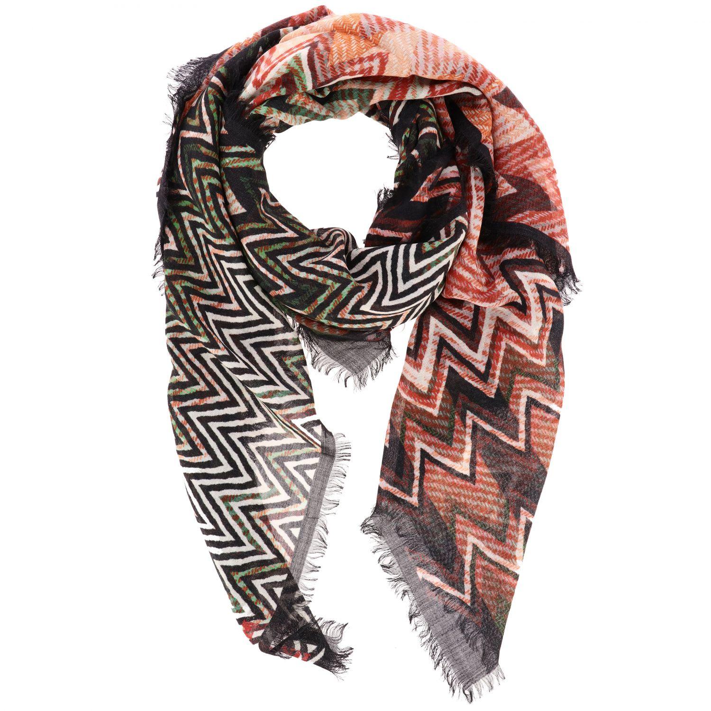 écharpe femme Missoni multicolore 2