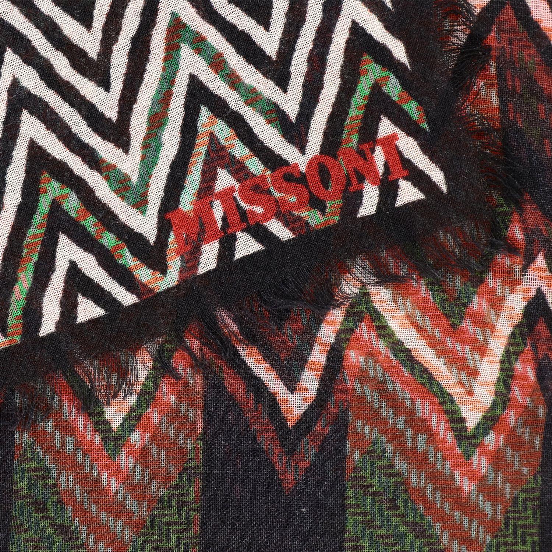 écharpe femme Missoni multicolore 3