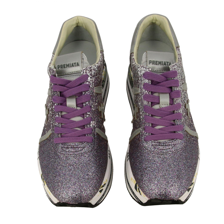 运动鞋 女士 Premiata 紫红色 3