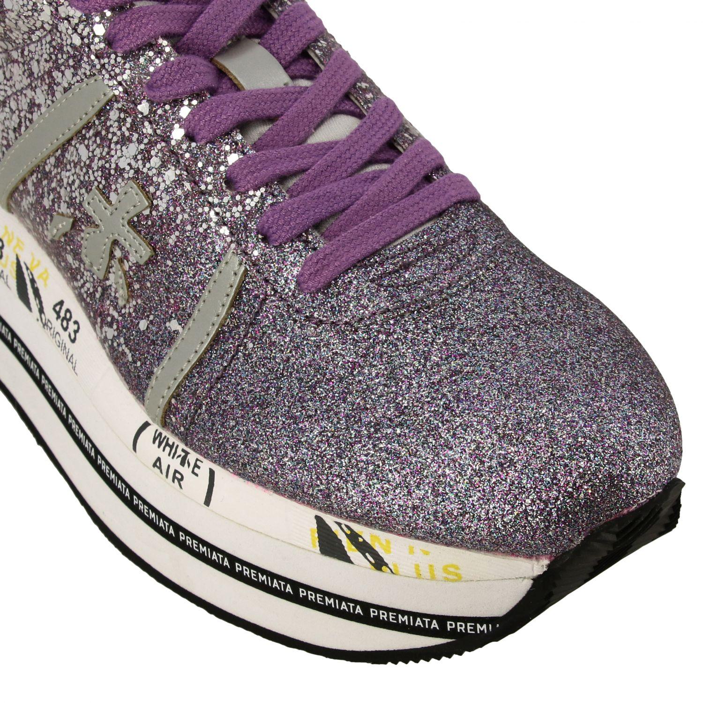 运动鞋 女士 Premiata 紫红色 4