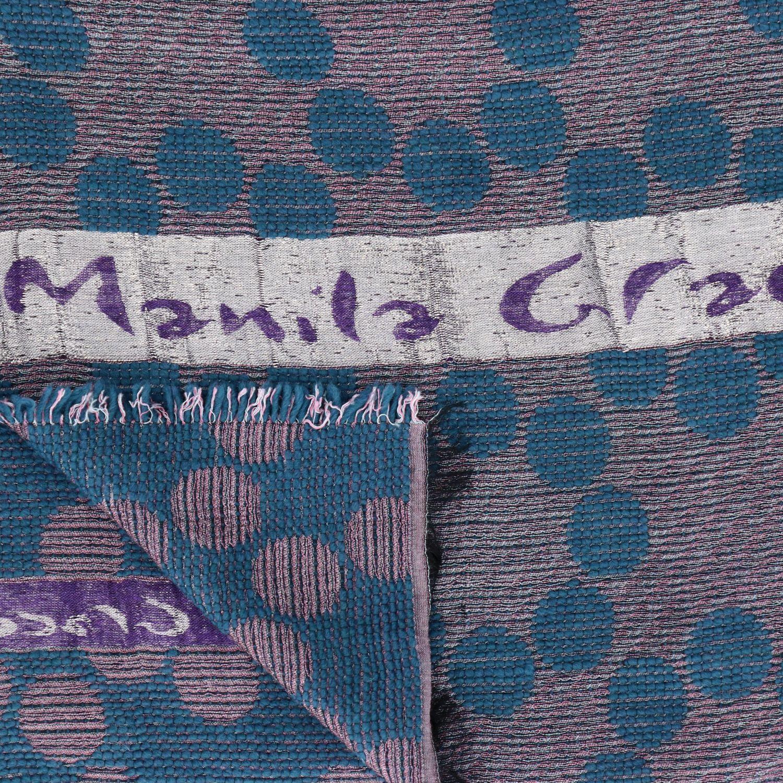 Sciarpa Manila Grace a fantasia rosa 3