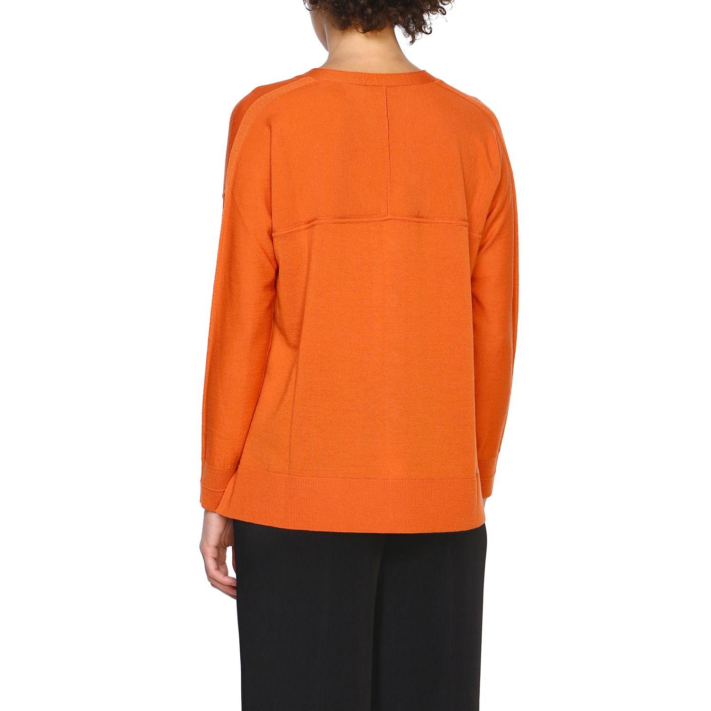 Cardigan Maliparmi: Cardigan donna Maliparmi arancione 3
