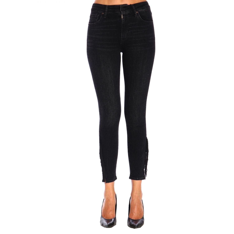 Jeans donna Levi's nero 1
