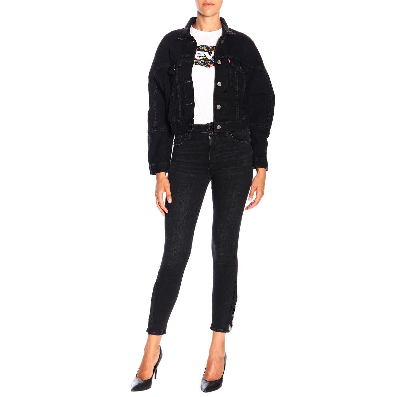 Jeans donna Levi's nero 2