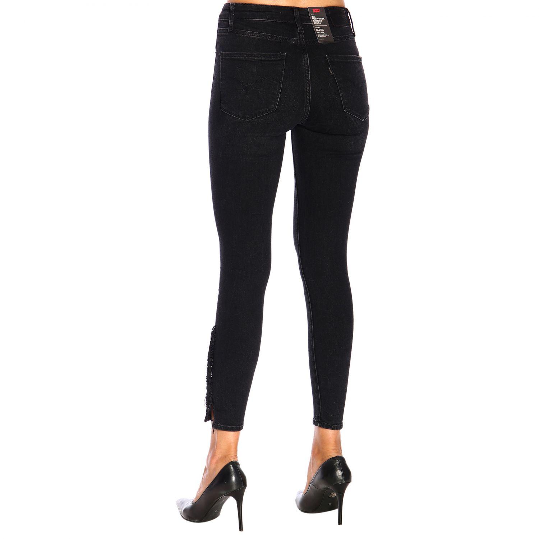 Jeans donna Levi's nero 3
