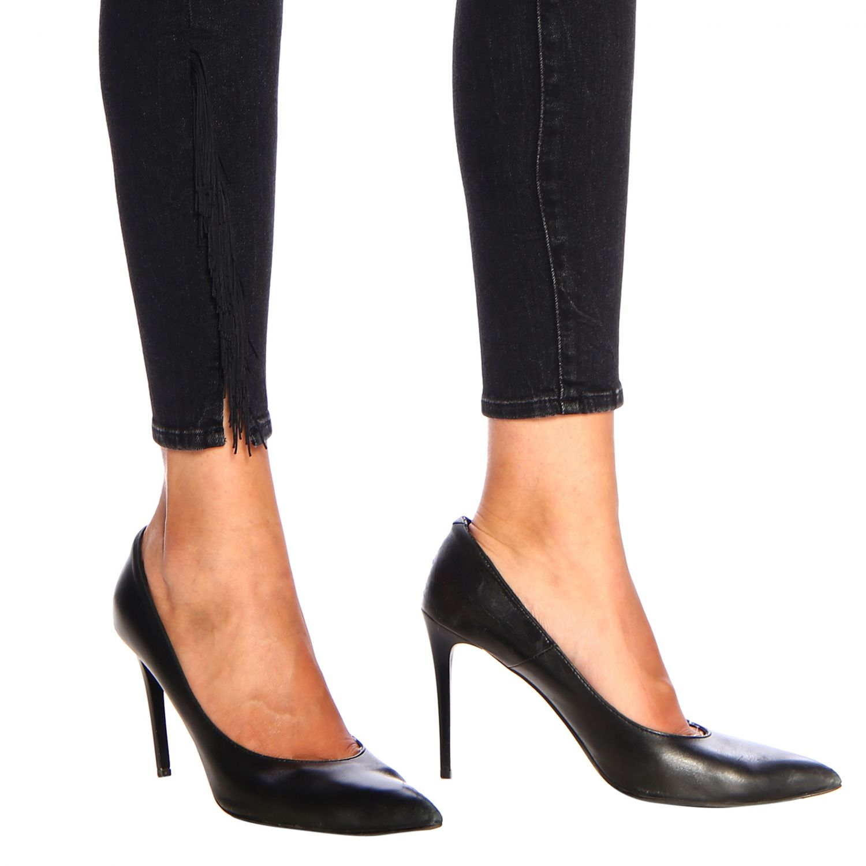 Jeans donna Levi's nero 4