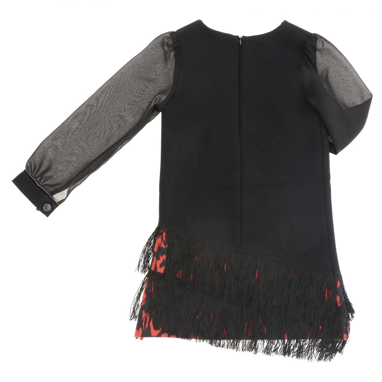 Robe enfant Loredana noir 2