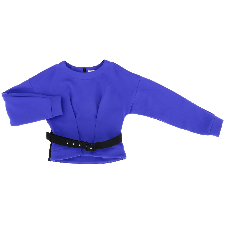 Chaqueta niños Loredana azul eléctrico 1