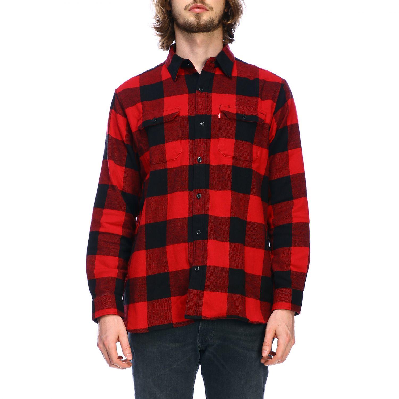 Рубашка Мужское Levi's красный 1