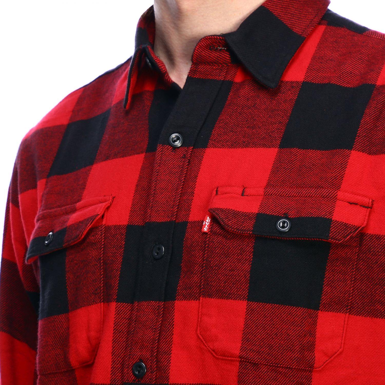 Shirt men Levi's red 4