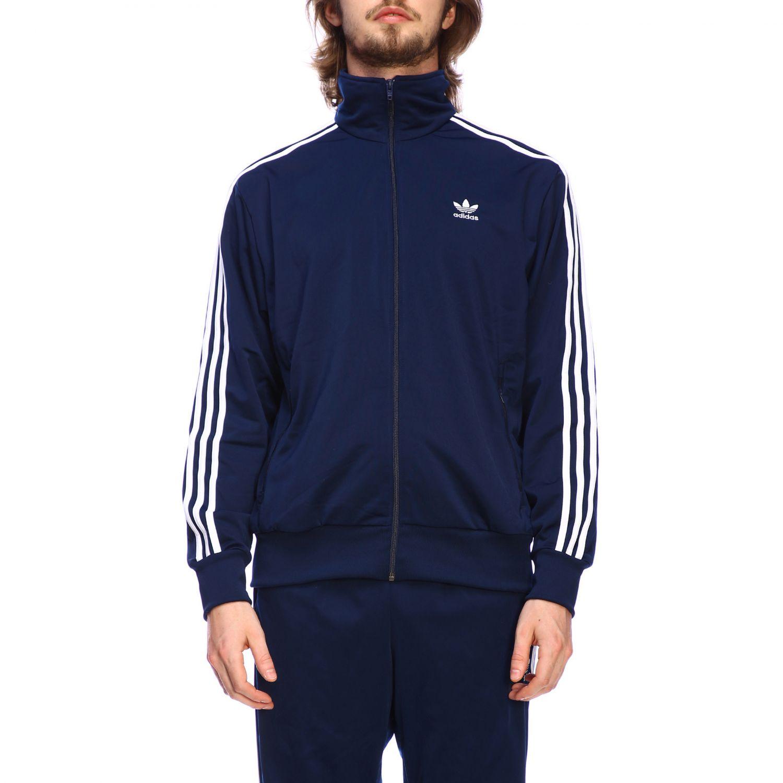 Sudadera Adidas Originals: Sudadera hombre Adidas Originals azul oscuro 1